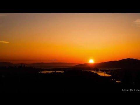 Burnaby Mountain Sunset 08-04-2016