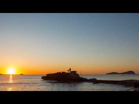 Es Figueral Ibiza sunrise timelapse beach