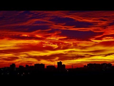 Краснодар очень красивый закат sunset timelapse 4K